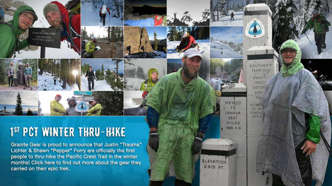 Justin Lichter and Shawn Forry Succeed  PCT Winter Thru-Hike.