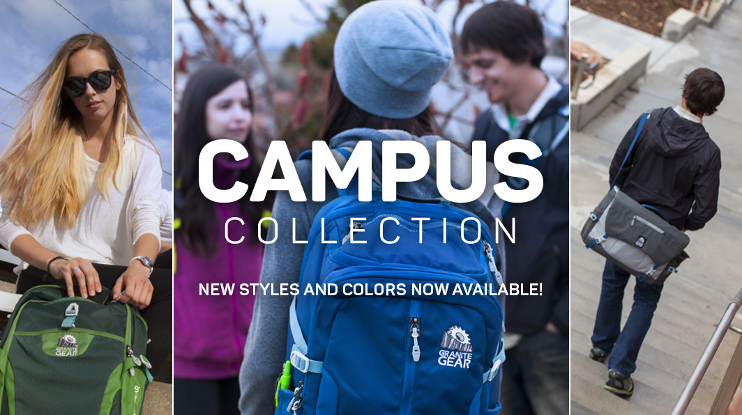 Check out the new styles and colors of our entire Campus Collection.