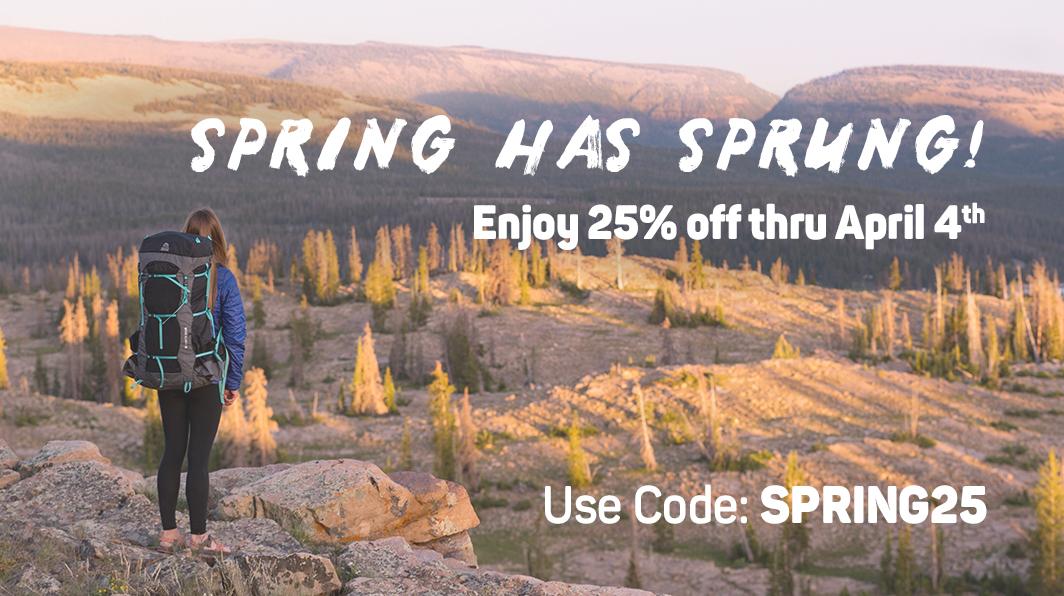 25% off spring